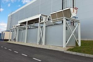 Металлический контейнер производства компании Kron Investment Group
