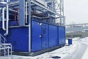 Вид сбоку контейнера производства компании Kron Investment Group