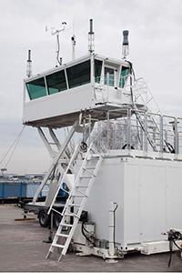 Фото наблюдательного диспетчерского пункта