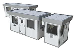 Стандартные и индивидуальные размеры бронированных КПП