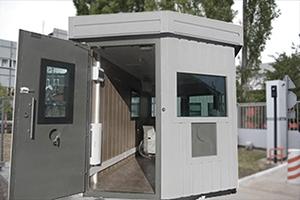 Общий вид металлического контейнера для охраны