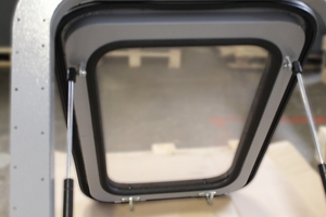 Окно для фургона вид изнутри