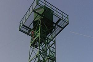 Фотографии 18-ти метровой наблюдательной вышки