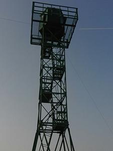 Фотографии 18-ти метровой металлической вышки