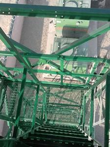 Лестница для подъема на смотровую площадку