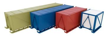 Стандартные и индивидуальные размеры блок-контейнеров